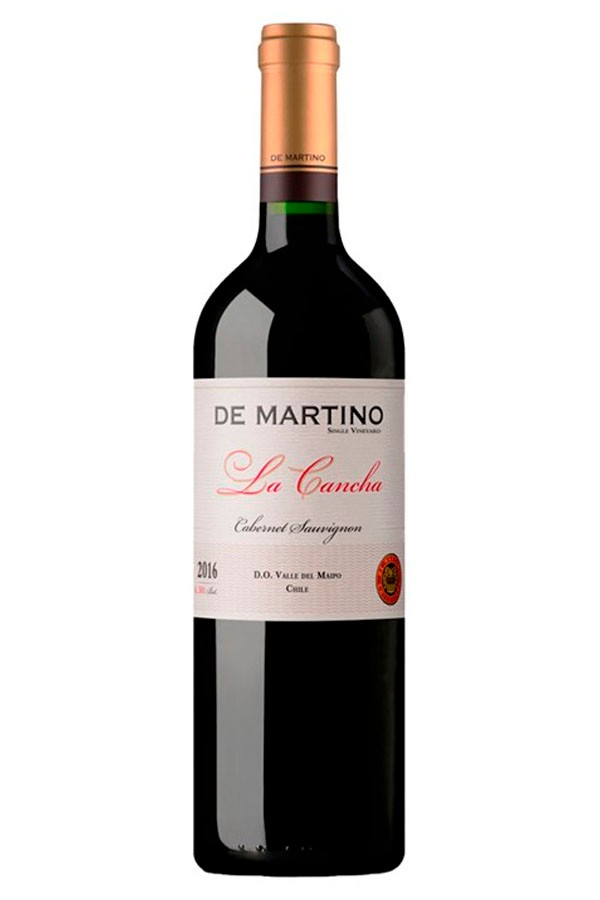 CAB. SAUVIGNON SINGLE VINEYARD LA CANCHA (DE MARTINO) 2015