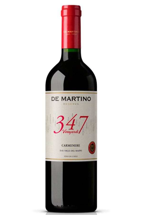 CARMENERE 347 VINEYARDS RES. (DE MARTINO) 2016