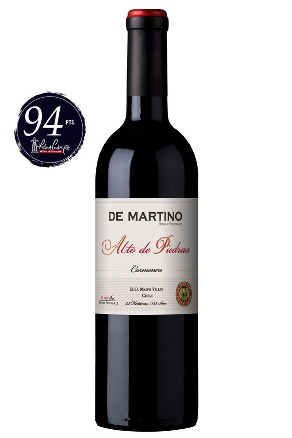 CARMENERE SINGLE VINEYARDS (DE MARTINO) 2015