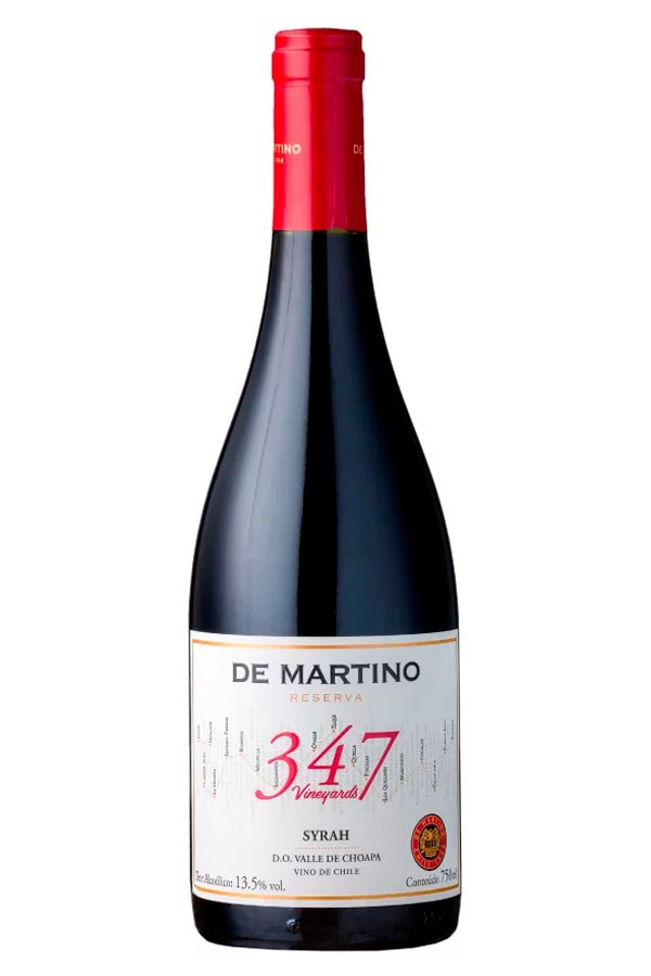 SYRAH 347 VINEYARDS RESERVA (DE MARTINO) 2016