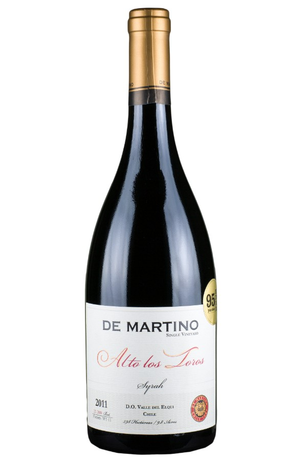 SYRAH SINGLE VINEYARD ALTO LOS TOROS (DE MARTINO) 2011
